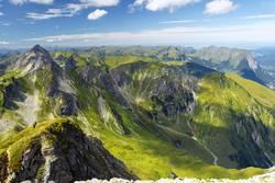 Bregenzerwald von oben