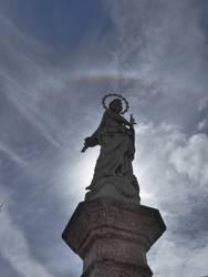Transzendenz I Maria mit Sternenkranz