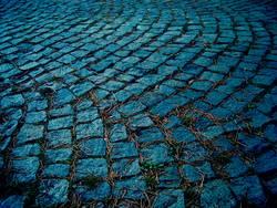 My blue street
