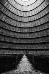 inside the cooling tower [14]