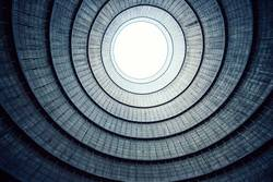 inside the cooling tower [11]