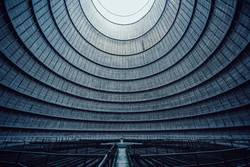 inside the cooling tower [1]