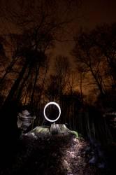 Lightscribe Art IV - Illuminated Circle