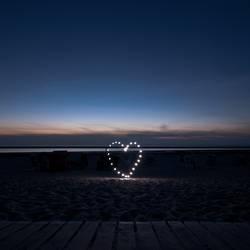 Heart of the beach