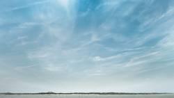 Wolkenspiel auf Langeoog