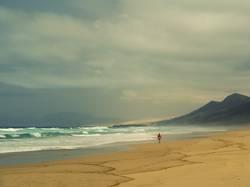Einsamer Strand - Cofete