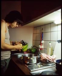Denn Kochen sollte ein Mann können