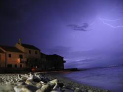 Gewitter über Kroatien