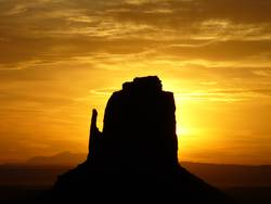 Sonnenaufgang Monument Valley USA