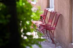 Santa Fe Backyard Resting Place