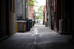 Denver Downtown Backalley