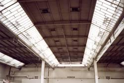 Messehalle / Dachkonstrukt
