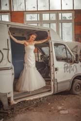 #A# Hochzeitsauto klar gemacht