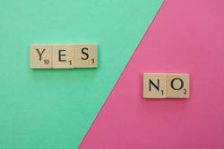 #A# YES and NO