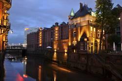 Hamburg Speicherstadt bei Nacht 4