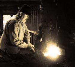 Antique blacksmith