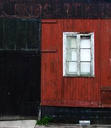Old red wood house I
