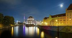 Bode Museum Panorama an der Spree