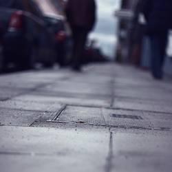 pavement shot
