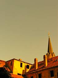 verdeckte Kirche ...