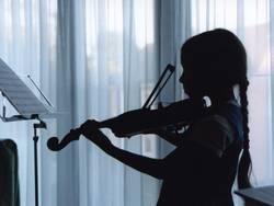 Die Musikerin