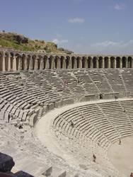Theater in Aspendos/Ausschnitt