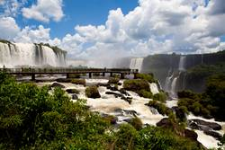 Foz do Iguazu - Brasilien side