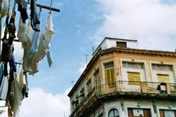 Wäsche in Havanna