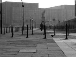 Berlin, Palast der Republik, 8:49 AM