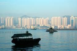 Boat alone, Hong Kong