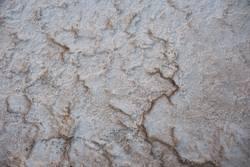 Natural salt floor in salt factory