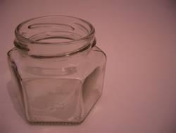 leeres glas