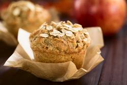 Apple and Oatmeal Muffin