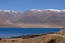 Landscape in west Tibet