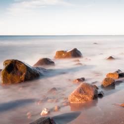 Steine am Meer (Stones on the beach)