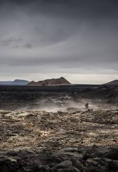 A Walk in the Lava Field