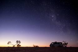 Auf dem Weg zur Milchstraße