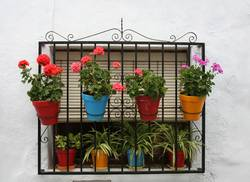 Andalusische Fensteridylle