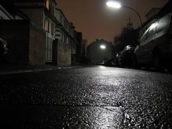 Krötenblick bei Nacht