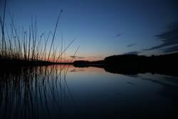 Sonnenuntergang in den Masuren