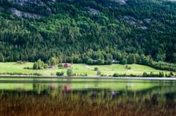 Seelandschaft in Norwegen