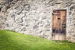 Tür der Erleichterung
