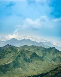 In den Alpen...