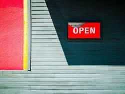 open...
