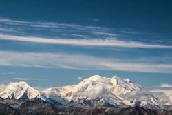 weiße Gipfel