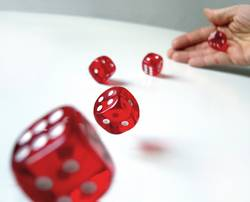 rolling` dices