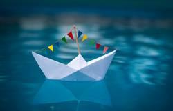 Sail away | Papierboot Partyschiff