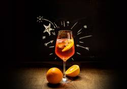Beliebter italienischer Sommer-Drink