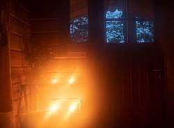 Inside Sauna in Finland