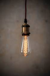 Vintage Edison Glühbirne